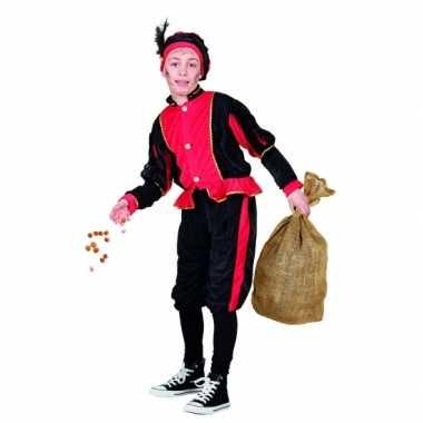 Compleet rood pietenpak kinderen